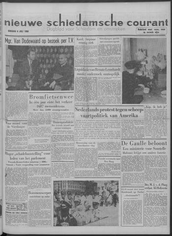 Nieuwe Schiedamsche Courant 1958-07-08