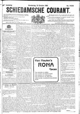 Schiedamsche Courant 1912-10-31