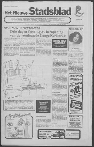 Het Nieuwe Stadsblad 1977-08-31