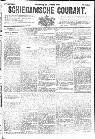 Schiedamsche Courant 1908-10-28