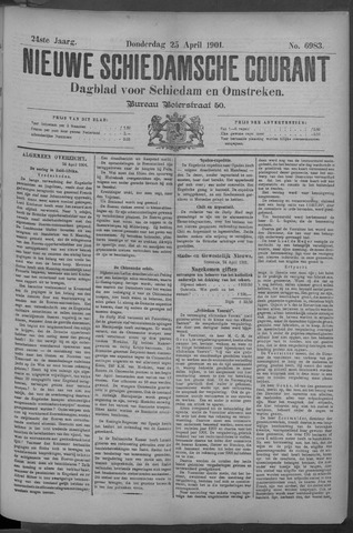 Nieuwe Schiedamsche Courant 1901-04-25