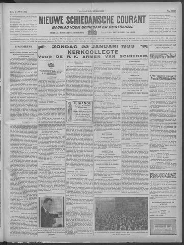 Nieuwe Schiedamsche Courant 1933-01-20