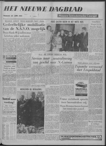 Nieuwe Schiedamsche Courant 1961-06-23