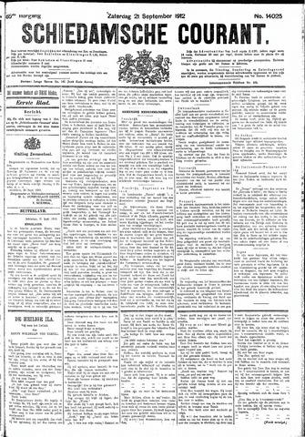 Schiedamsche Courant 1912-09-21