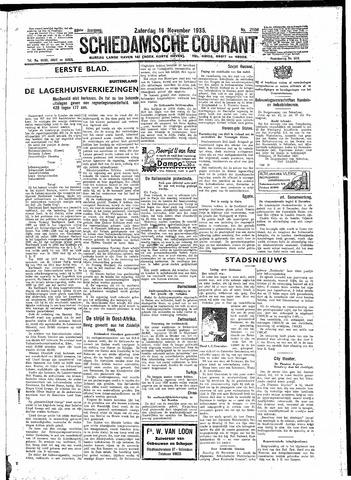 Schiedamsche Courant 1935-11-16