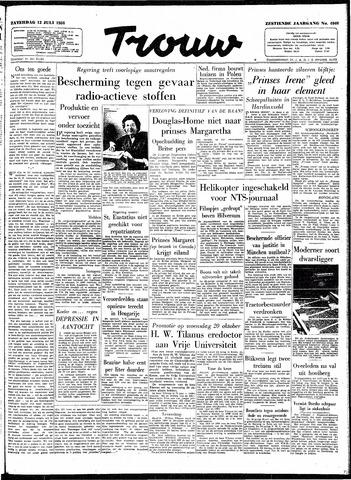 Trouw / De Rotterdammer 1958-07-12