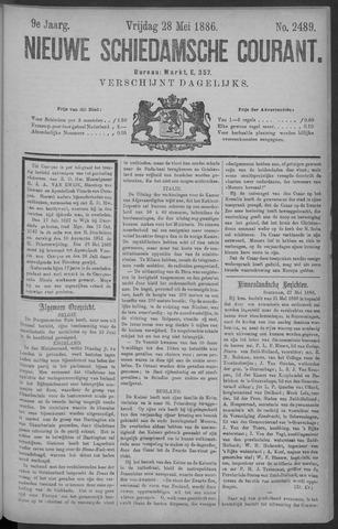 Nieuwe Schiedamsche Courant 1886-05-28