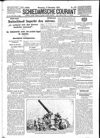 Schiedamsche Courant 1935-11-13