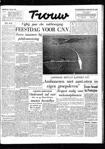 Trouw / De Rotterdammer 1959-07-03