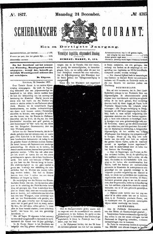 Schiedamsche Courant 1877-12-24