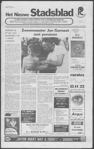 Het Nieuwe Stadsblad 1972-06-16