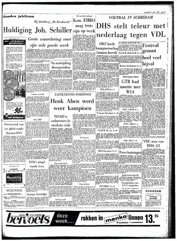 Rotterdamsch Parool / De Schiedammer 1964-04-13