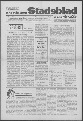 Het Nieuwe Stadsblad 1963-01-30