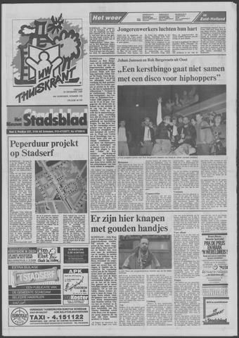 Het Nieuwe Stadsblad 1988-12-23