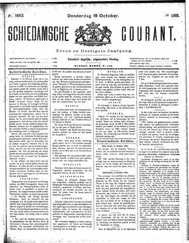 Schiedamsche Courant 1883-10-18