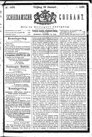 Schiedamsche Courant 1879-01-24