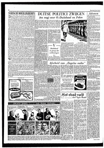 Rotterdamsch Parool / De Schiedammer 1957-07-20