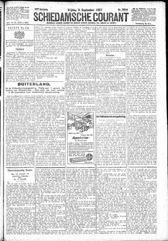 Schiedamsche Courant 1927-09-09