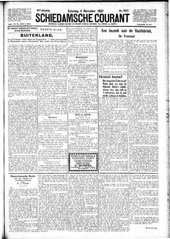 Schiedamsche Courant 1927-11-05