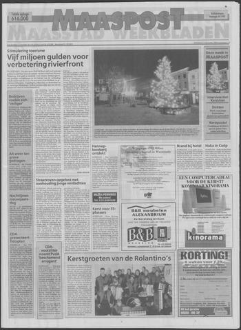 Maaspost / Maasstad / Maasstad Pers 1998-12-23