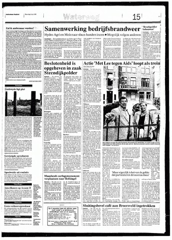 Rotterdamsch Nieuwsblad / Schiedamsche Courant / Rotterdams Dagblad / Waterweg / Algemeen Dagblad 1993-07-14