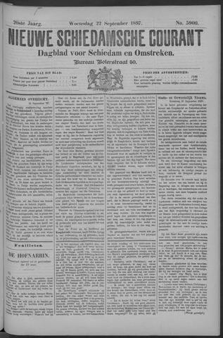 Nieuwe Schiedamsche Courant 1897-09-22