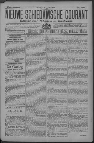 Nieuwe Schiedamsche Courant 1917-04-10