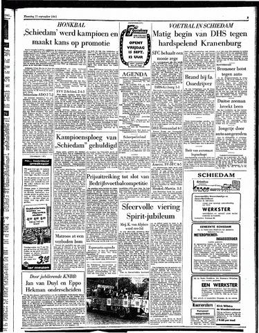Rotterdamsch Parool / De Schiedammer 1961-09-11
