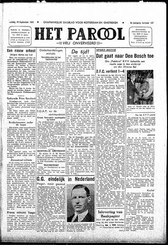 Rotterdamsch Parool / De Schiedammer 1945-09-10