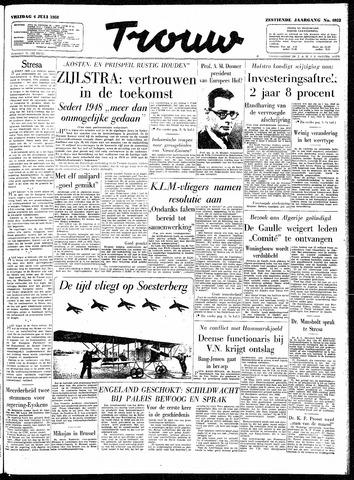 Trouw / De Rotterdammer 1958-07-04
