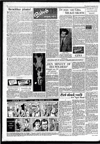 Rotterdamsch Parool / De Schiedammer 1957-09-25