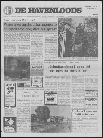 De Havenloods 1972-04-27