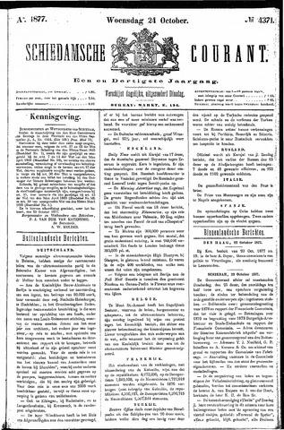 Schiedamsche Courant 1877-10-24