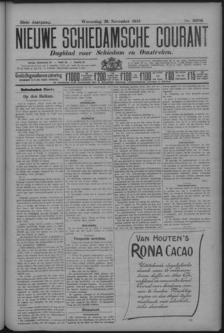 Nieuwe Schiedamsche Courant 1913-11-26
