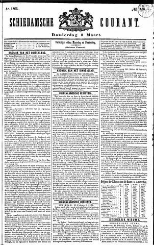 Schiedamsche Courant 1866-03-01