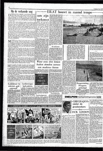 Rotterdamsch Parool / De Schiedammer 1957-05-03