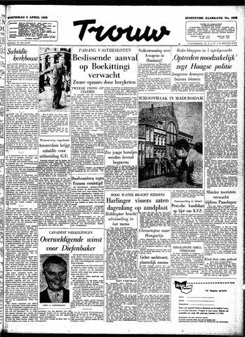 Trouw / De Rotterdammer 1958-04-02