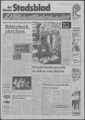 Het Nieuwe Stadsblad 1985-09-25
