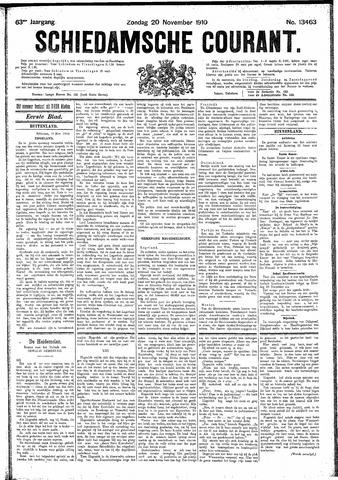 Schiedamsche Courant 1910-11-20