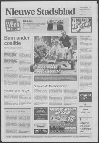 Het Nieuwe Stadsblad 2011-09-14