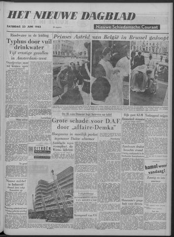 Nieuwe Schiedamsche Courant 1962-06-23