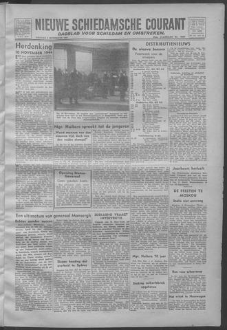 Nieuwe Schiedamsche Courant 1945-11-09