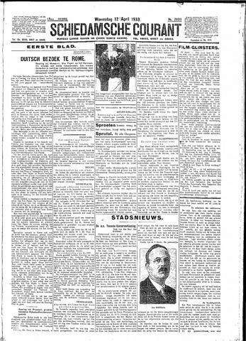 Schiedamsche Courant 1933-04-12