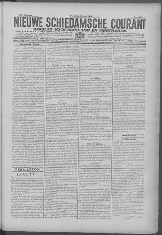 Nieuwe Schiedamsche Courant 1925-04-22