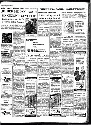 Rotterdamsch Parool / De Schiedammer 1963-10-25
