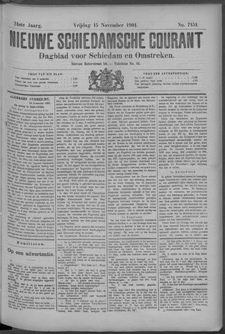 Nieuwe Schiedamsche Courant 1901-11-15