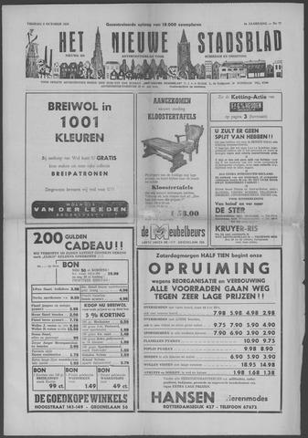 Het Nieuwe Stadsblad 1954-10-08