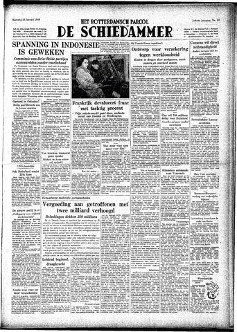Rotterdamsch Parool / De Schiedammer 1948-01-26