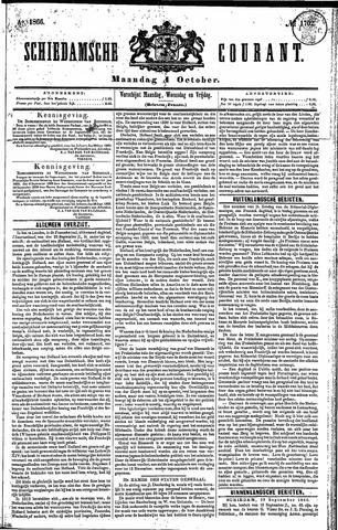 Schiedamsche Courant 1866-10-01