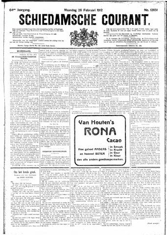Schiedamsche Courant 1912-02-26